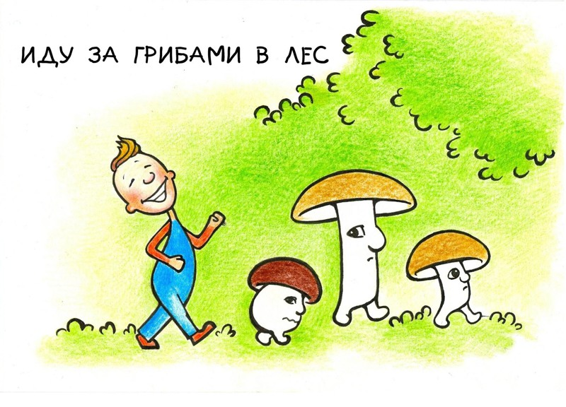 Иду за грибами